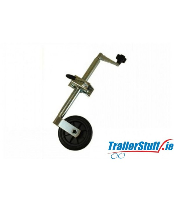 34MM STANDARD DUTY TELESCOPIC JOCKEY WHEEL PLUS CL...