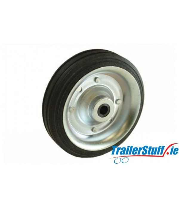 160MM STEEL WHEEL