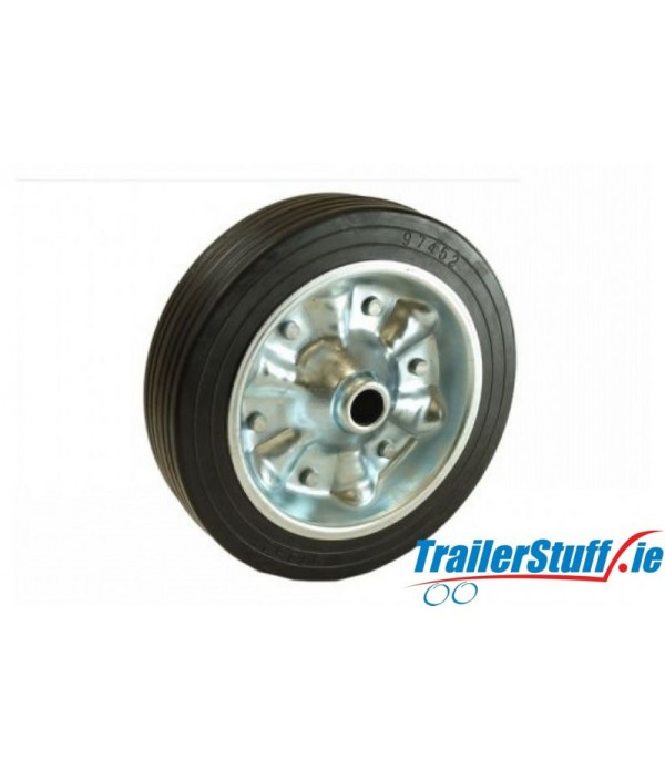225MM PU / STEEL WHEEL