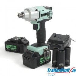 """18V 1/2"""" 430nm Impact Wrench (Includes 3 impact sockets)"""