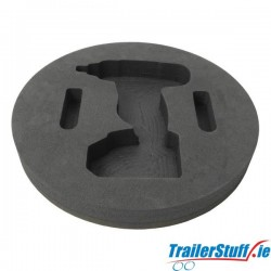 """SPARE WHEEL IMPACT WRENCH HOLDER (15"""") KWT-017-15"""