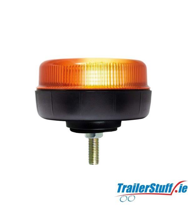 12/24V Single Bolt Fixing LED Low Profile Beacon