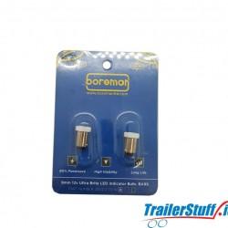 9MM 12V Ultra Brite LED Indicator Bulb