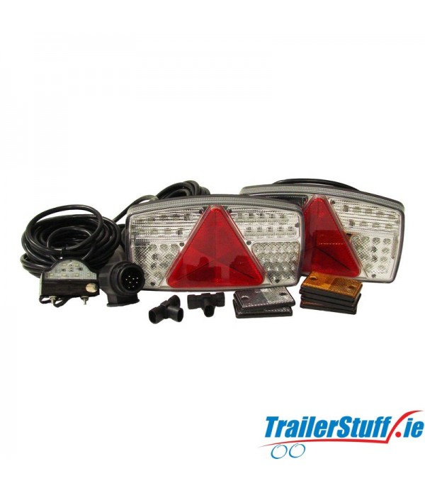 LED Light Kit For Up To 16' Trailers