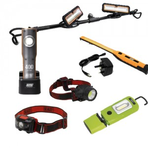 LED Hand Lights, Head torches & Lead Lamps