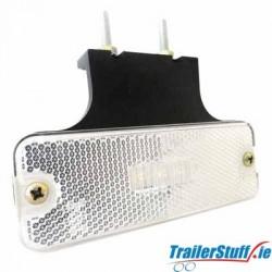 LED Marker Lamp White and Bracket