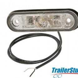 Aspock Posipoint 2 LED White Marker Light