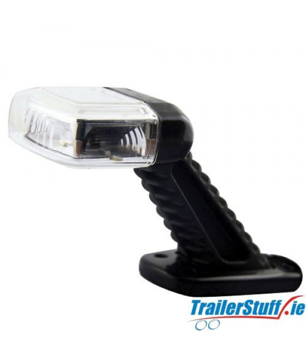 45° LED Rubber Stalk Lamp | Left