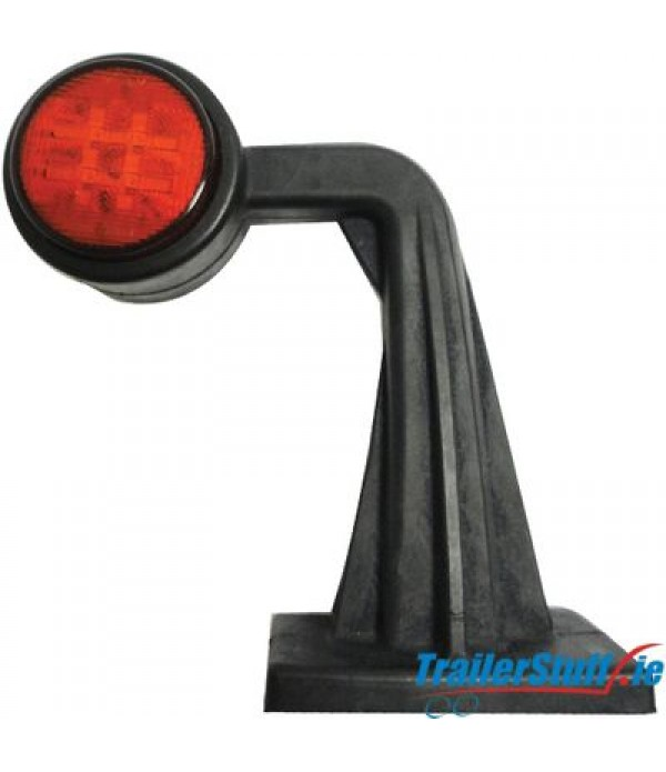 90° LED Stalk Lamp | Left | Rubber Arm