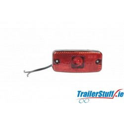 WAS 10-30V RED LED REAR MARKER & REFLECTOR