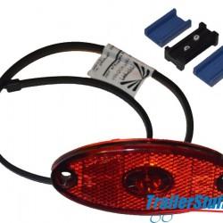 Aspock Flatpoint II Red LED