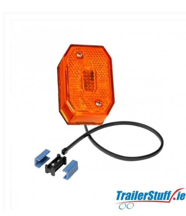 ASPOCK FLEXIPOINT LED AMBER SIDE MARKER LIGHT