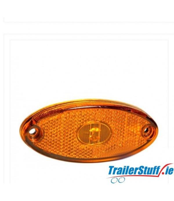 Aspock Flatpoint II Amber LED