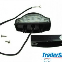 10-30V LED NUMBERPLATE LAMP + CABLE & CLIP-BASE