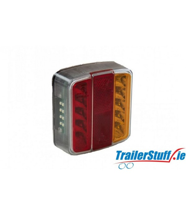 12V LED S/T/I/NPL SQUARE REAR COMBI LAMP