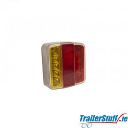 12V LED S/T/I/NPL SQUARE REAR COMBI LAMP