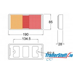 12/24V LED REAR COMBINATION LAMP