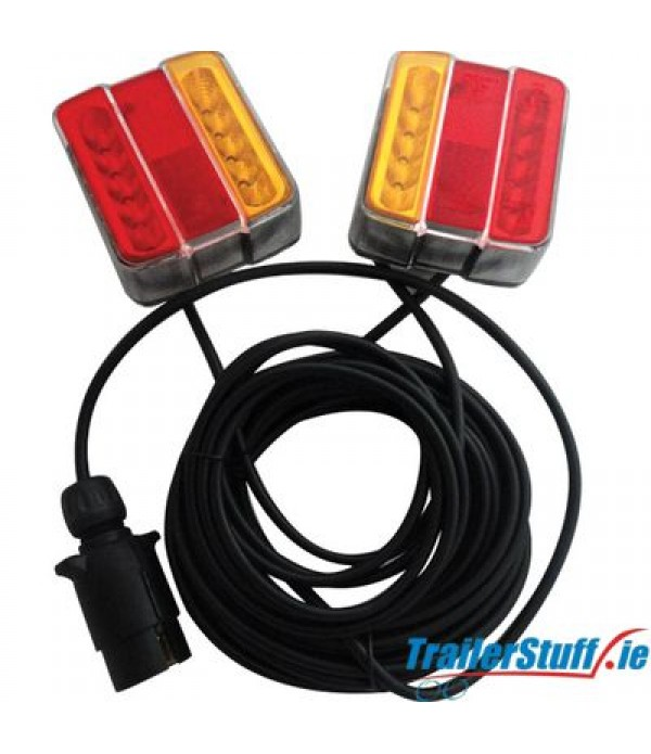 Led Magnetic Trailer Lights 12m Cable