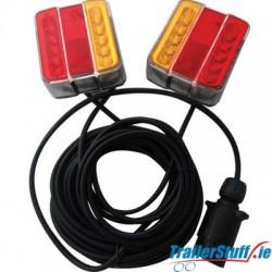 Led MagneticTrailer Lights 7.5m Cable