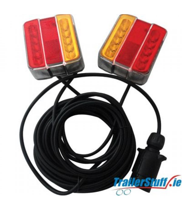 Led MagneticTrailer Lights 7.5m Cable
