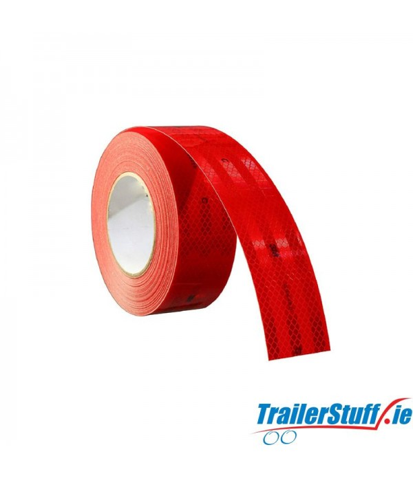 3M Red reflective tape, price per meter