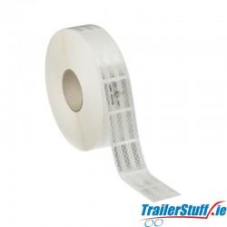 3M White reflective tape, price per meter