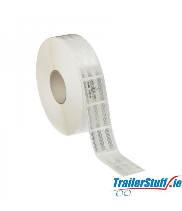 3M White reflective tape, price per meter