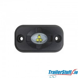 LED Micro Worklamp / Reverse Light Surface Mount 580lm