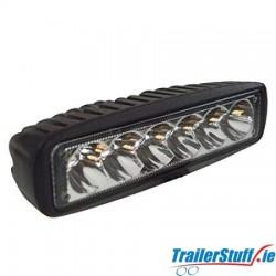 SLIMLINE 10-30V 18W SPOT LED WORKLAMP