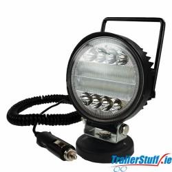 Magnetic 12/24V 30W LED Work Light