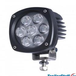 """247 Lighting 4"""" Explorer Flood Lamp 7 LED"""