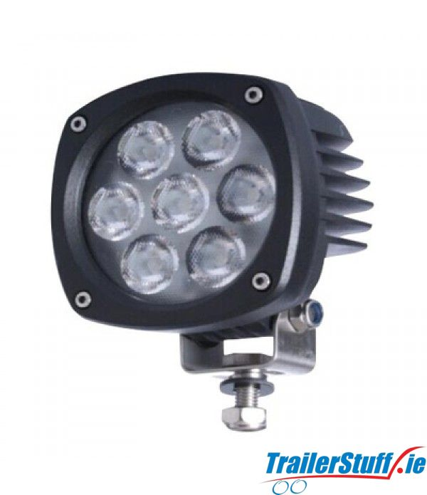 "247 Lighting 4"" Explorer Flood Lamp 7 LED"