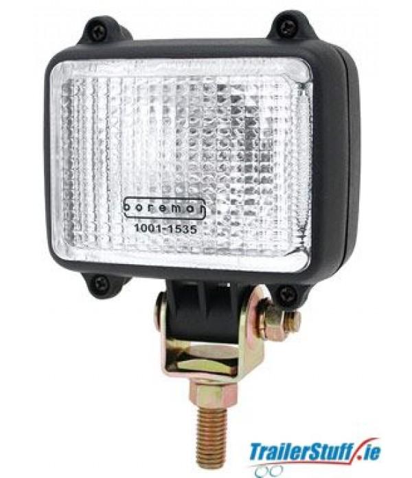 Boreman 12v Square Compact work lamp