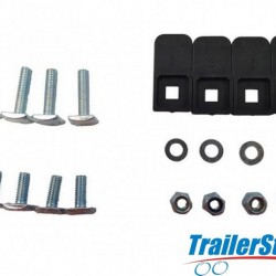 RB250 MWAY T-BOLT KIT FOR ROOF BARS (PK 4)