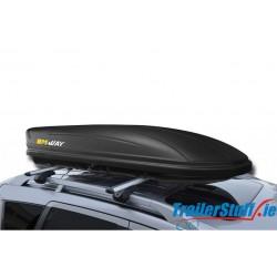MW5320 MWAY VENOM 320 DARK - 320L BLACK ROOF BOX