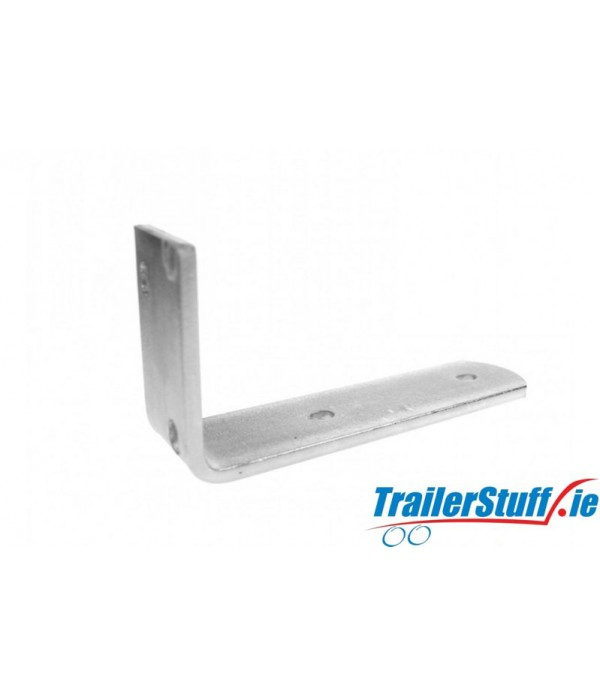 Heavy-duty mudguard bracket, short