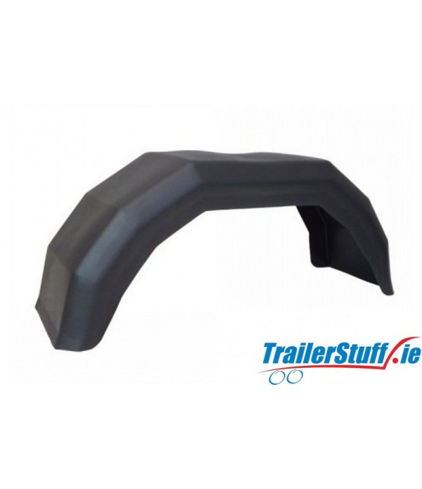"10"" SINGLE PLASTIC MUDGUARD"