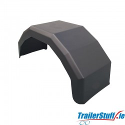 Single Plastic Mudguard to suit Flotation Wheels
