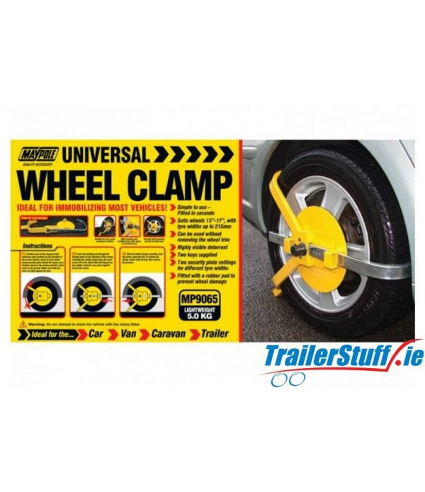 "13""-17"" UNIVERSAL WHEEL CLAMP"