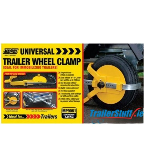 "8""-10"" TRAILER WHEEL CLAMP"