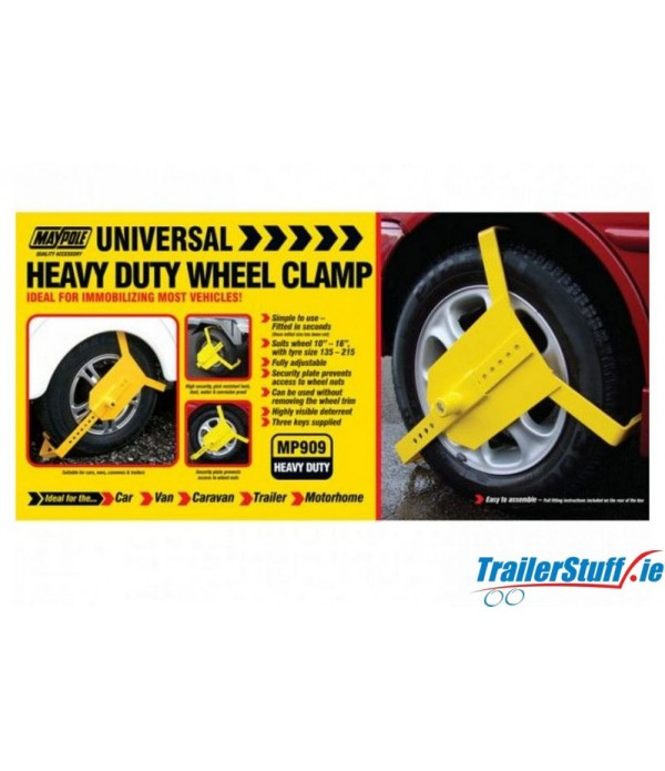 "10""-16"" HEAVY DUTY WHEEL CLAMP"