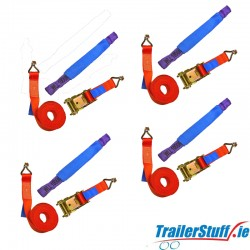 4 x Car Transporter Lashing Strap only €65 **FREE CARRIAGE**