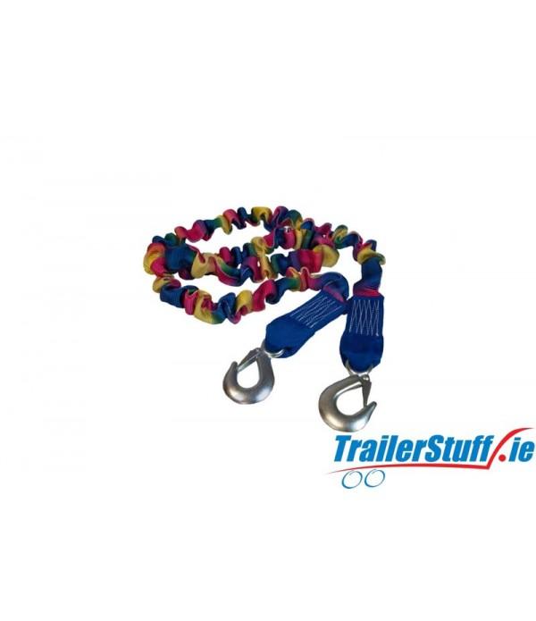 Elastic tow rope 3000 kg. capacity