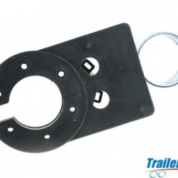Lighting Socket Mounting Plate for Swan Neck Towbars