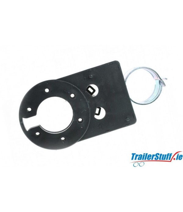 Lighting Socket Mounting Plate for Swan Neck Towba...