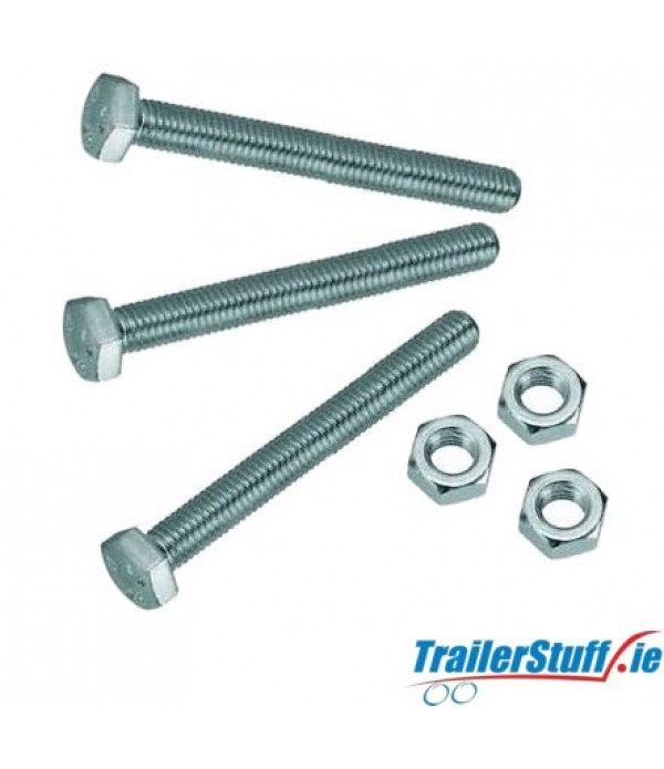 M5 x 35mm towbar socket fixing bolts and nuts