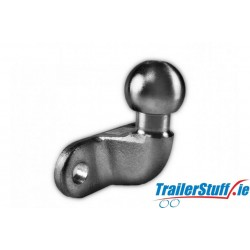 HEAVY DUTY 50MM TOWBALL EU APPROVED - SILVER