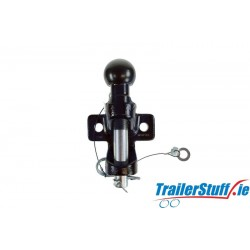 50MM BALL AND PIN HITCH - BLACK