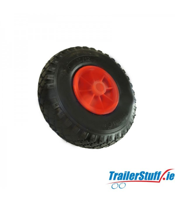 260MM PNEUMATIC RUBBER / PLASTIC WHEEL