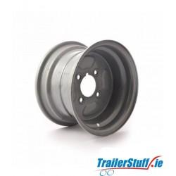 """10 inch rim, 6J, 4x4"""" PCD to fit 20.5x8-10 tyre"""
